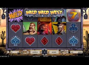 Wild Wild West slotmaskinen SS-01