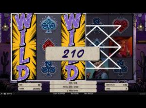 Wild Wild West slotmaskinen SS-02