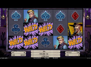Wild Wild West slotmaskinen SS-09