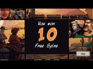 Wild Wild West slotmaskinen SS-10