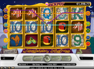 Arabian Nights slotmaskinen SS-04
