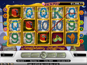 Arabian Nights slotmaskinen SS-06