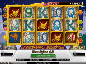 Arabian Nights slotmaskinen SS-07