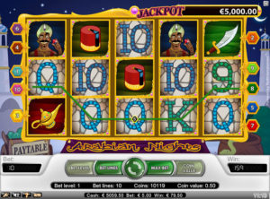 Arabian Nights slotmaskinen SS-09