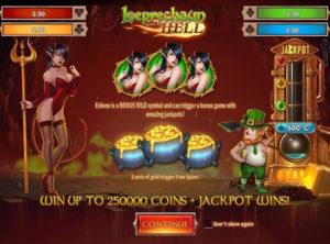 Leprechaun Goes to Hell slotmaskinen SS-01