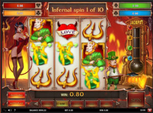 Leprechaun Goes to Hell slotmaskinen SS-02