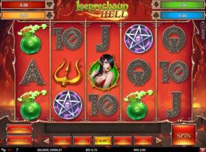 Leprechaun Goes to Hell slotmaskinen SS-08