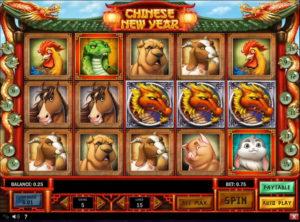 Chinese New Year slotmaskinen SS-09