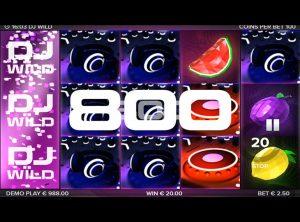 DJ Wïld slotmaskinen SS-05