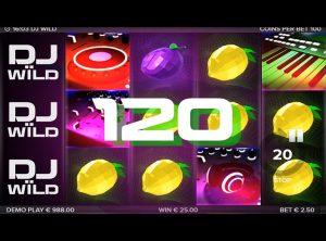 DJ Wïld slotmaskinen SS-06