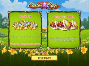 Easter Eggs slotmaskinen SS-01