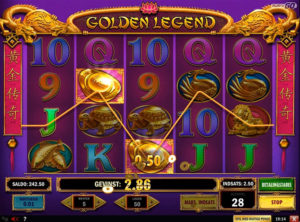 Golden Legend slotmaskinen SS-04