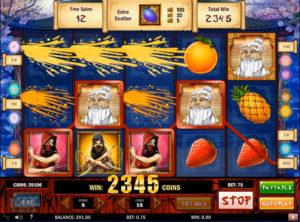 Ninja Fruits slotmaskinen SS-15
