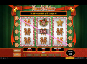 Xmas Joker slotmaskinen SS-04