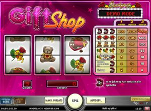 Gift Shop slotmaskinen SS-01