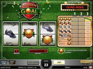 Golden Goal slotmaskinen SS-05