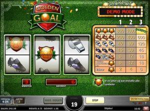 Golden Goal slotmaskinen SS-06