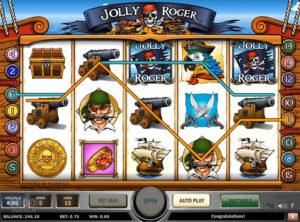 Jolly Roger slotmaskinen SS-01
