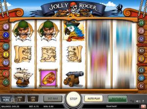 Jolly Roger slotmaskinen SS-03