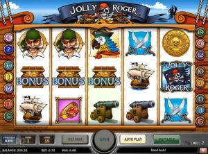 Jolly Roger slotmaskinen SS-07
