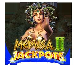 Medusa-II-Jackpots small logo